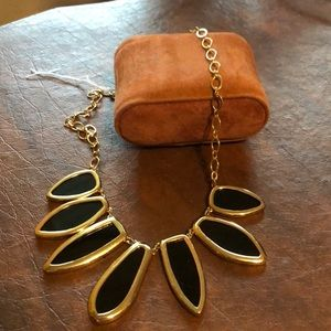 Stella and Dot black & gold
